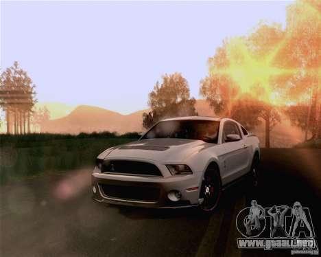 Optix ENBSeries Anamorphic Flare Edition para GTA San Andreas quinta pantalla