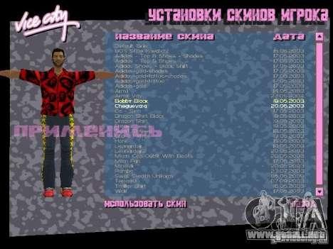 Pack de skins para Tommy para GTA Vice City twelth pantalla