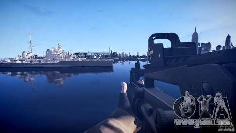 Nuevo M4 para GTA 4 tercera pantalla