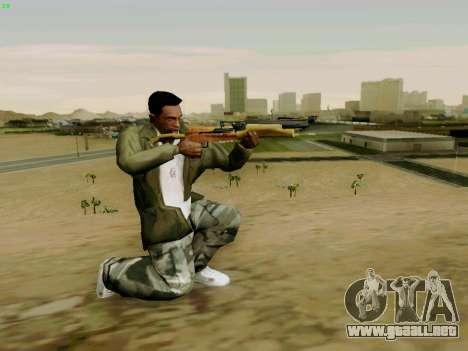 Una trabajo ballesta con flechas para GTA San Andreas sucesivamente de pantalla