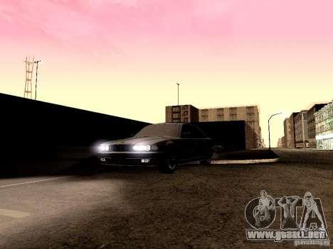 LibertySun Graphics For LowPC para GTA San Andreas sexta pantalla