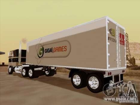Caband trailer para GTA San Andreas