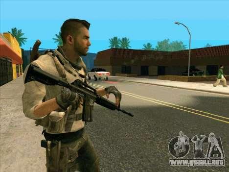 4 Un Mctavish para GTA San Andreas segunda pantalla