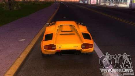 Lamborghini Countach para GTA Vice City visión correcta