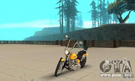 Harley Davidson softail Skin 1 para GTA San Andreas