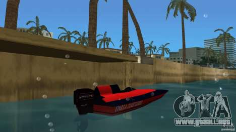 San Andreas Coast Guard para GTA Vice City vista lateral izquierdo