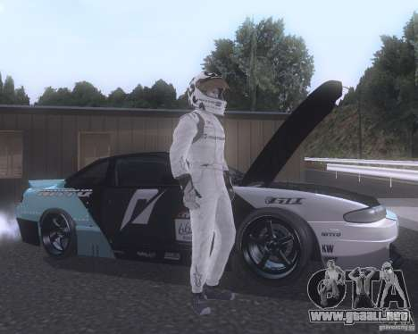 Matt Powers NFS Team para GTA San Andreas tercera pantalla