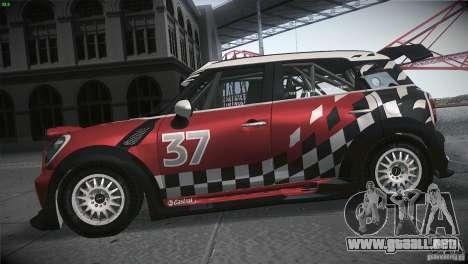 Mini Countryman WRC para GTA San Andreas left