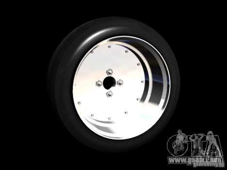 Old School Rims Pack para GTA San Andreas octavo de pantalla