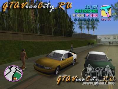 Audi S8 Tuning para GTA Vice City