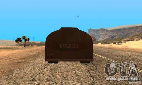 Remolque duelo Peterbilt para GTA San Andreas left