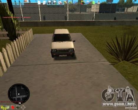 OKA VAZ 11113 para GTA San Andreas left