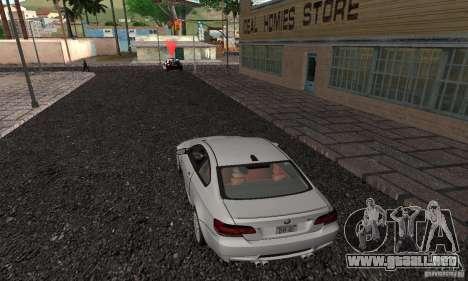 New Groove para GTA San Andreas octavo de pantalla
