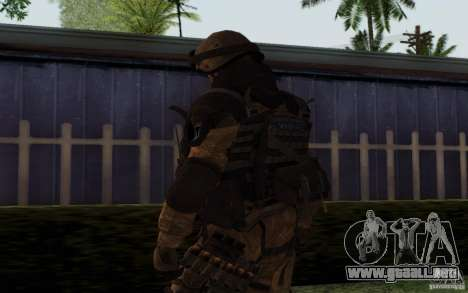 Šturomvik de Warface para GTA San Andreas tercera pantalla
