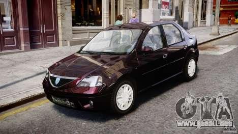 Dacia Logan 2007 Prestige 1.6 para GTA 4 left