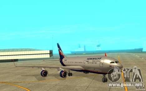 El IL-96-300 Aeroflot en nuevos colores para GTA San Andreas left