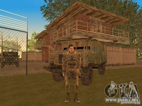 DEGTYAREV de Stalker para GTA San Andreas tercera pantalla