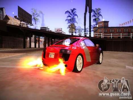 Efectos del tubo de escape para GTA San Andreas