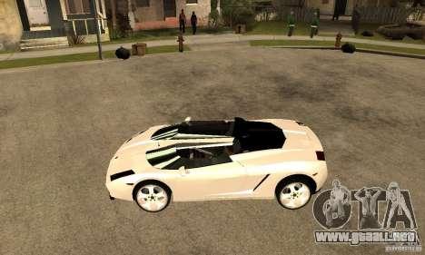 Lamborghini Concept S v2.0 para GTA San Andreas left