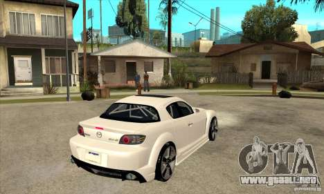 Mazda RX-8 v2 para la visión correcta GTA San Andreas