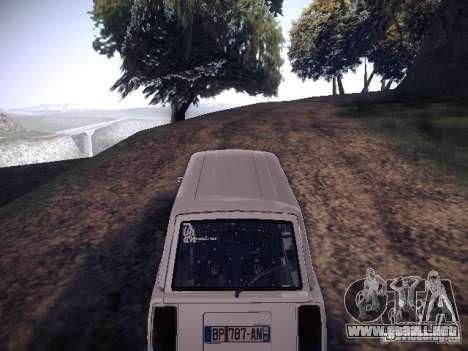Aire Vaz 2104 para la visión correcta GTA San Andreas