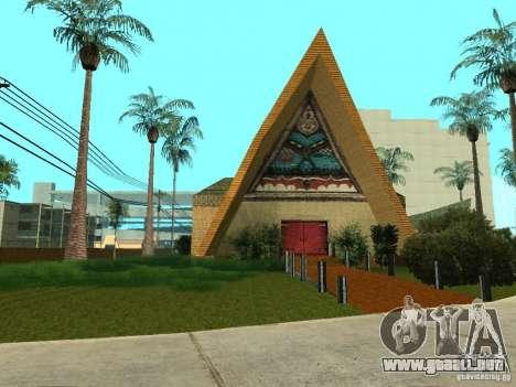 Nuevas texturas para casino peregrino para GTA San Andreas sucesivamente de pantalla
