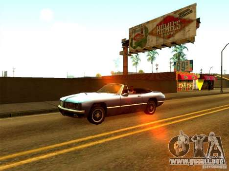ENBSeries by Sashka911 v2 para GTA San Andreas segunda pantalla