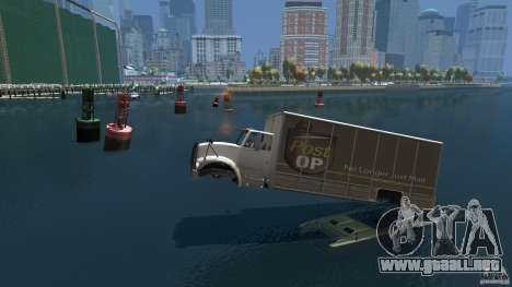 Benson boat para GTA 4 left