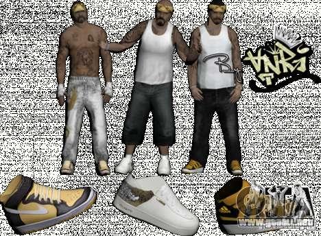 Skins Pack By AnRi para GTA San Andreas segunda pantalla