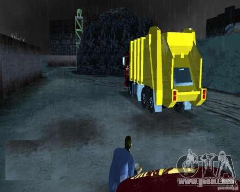 Camión Kamaz para GTA Vice City vista lateral izquierdo
