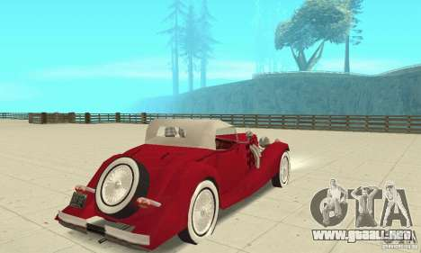 Mercedes-Benz 500K para GTA San Andreas left