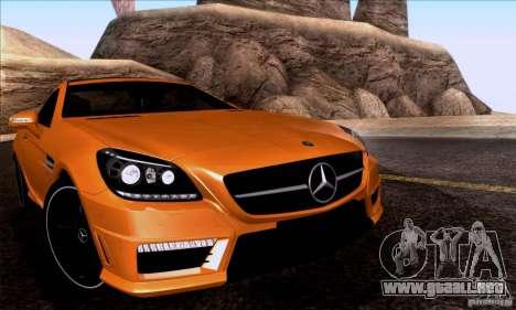 SA_nGine v1.0 para GTA San Andreas sucesivamente de pantalla