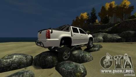 Chevrolet Avalanche 4x4 Truck para GTA 4 vista lateral