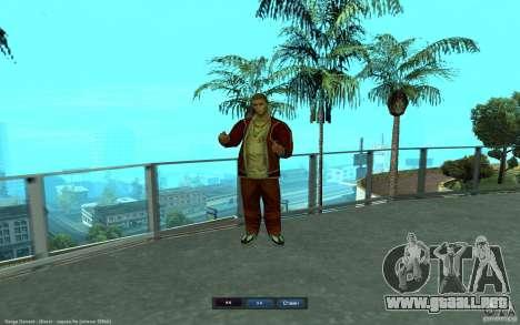 Crime Life Skin Pack para GTA San Andreas quinta pantalla