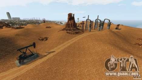 Red Dead Desert 2012 para GTA 4 octavo de pantalla