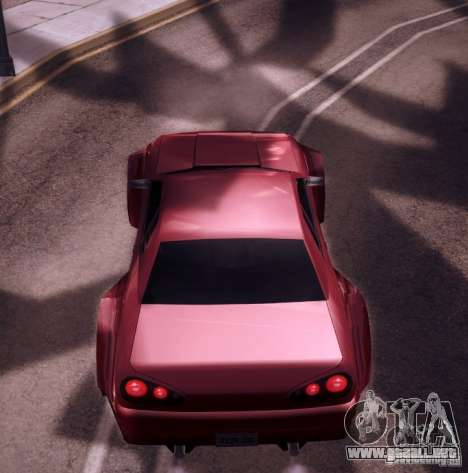 Elegy Wide Body para visión interna GTA San Andreas