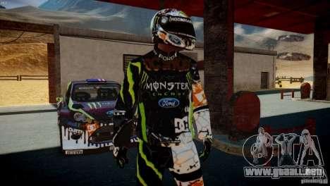 Ken Block Gymkhana 5 Clothes (Unofficial DC) para GTA 4 segundos de pantalla