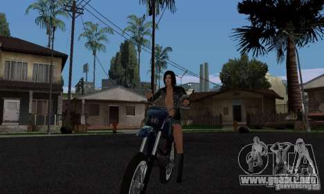 Un jinete fuerte para GTA San Andreas segunda pantalla