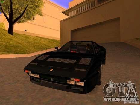 Ferrari 288 GTO para GTA San Andreas left