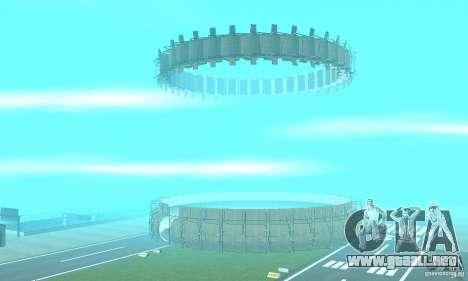 Airport Stunt para GTA San Andreas segunda pantalla