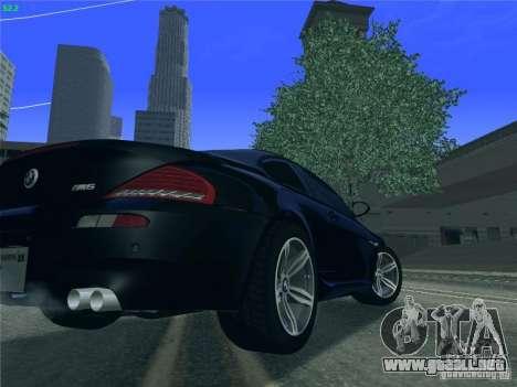 BMW M6 2010 Coupe para la visión correcta GTA San Andreas