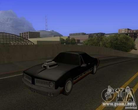 HD Diablo para GTA San Andreas vista hacia atrás