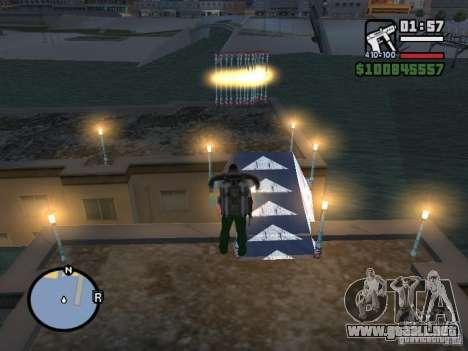 Night moto track para GTA San Andreas sucesivamente de pantalla