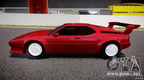 BMW M1 [Beta] para GTA 4 left