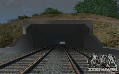 HD Red Bridge para GTA San Andreas sexta pantalla