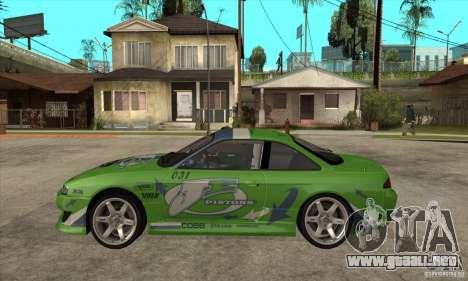 Nissan Silvia S14a JardinE Drift para GTA San Andreas left