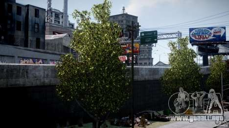 Realistic trees 1.2 para GTA 4 segundos de pantalla