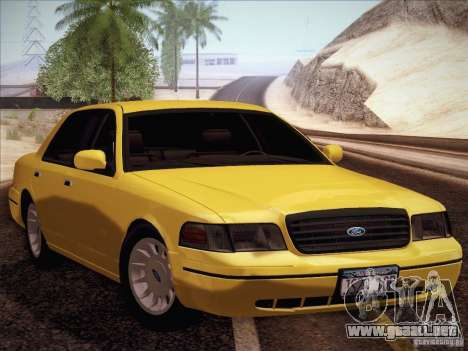 Ford Crown Victoria Interceptor para GTA San Andreas