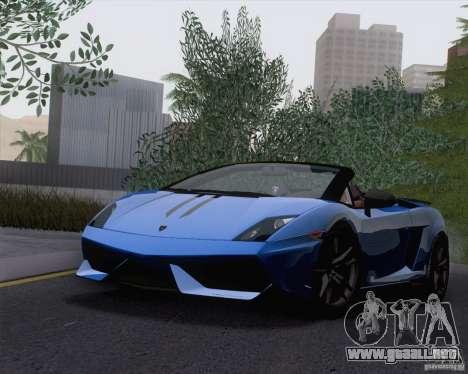 Lamborghini Gallardo LP570-4 Spyder Performante para GTA San Andreas left