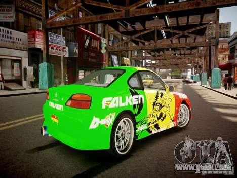 Nissan Silvia S15 Boso Drift Formula D M-Design para GTA 4 visión correcta